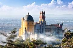 Palace of Pena in Sintra, Portugal