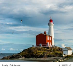 Fisgard Lighthouse Kanada