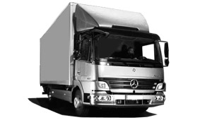 lkw 7 5 tonner mieten z b mercedes benz atego koffer bei. Black Bedroom Furniture Sets. Home Design Ideas