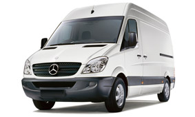 transporter mieten z b mercedes benz sprinter transporter. Black Bedroom Furniture Sets. Home Design Ideas